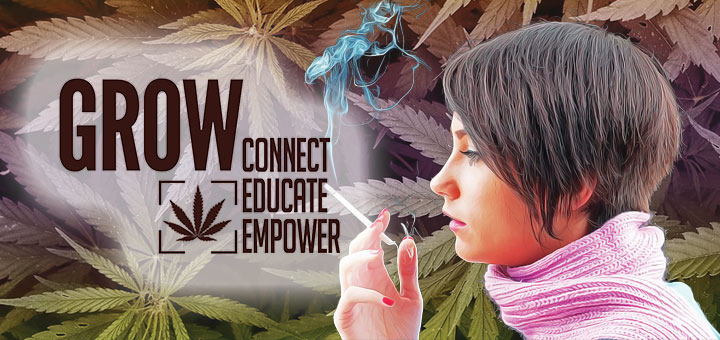 Conference attracts women with a desire to cultivate marijuana.