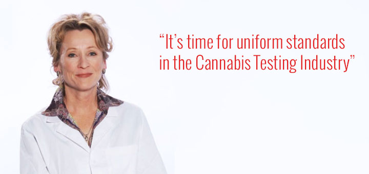 Dr. Cindy Orser Calls for Uniform Standards for Cannabis Safety Testing
