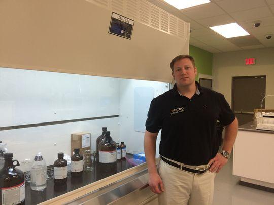 Morris man sees future in marijuana-testing