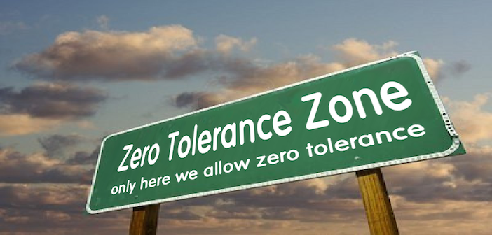 The Unforeseen Impact from a Zero Tolerance Executive Order