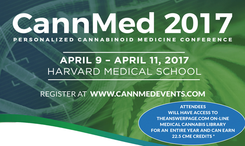 CannMed 2017 Hilights Therapeutic Benefits of Cannabis