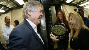 State Senator Tick Segerblom, Nevada Recreational Dispensary