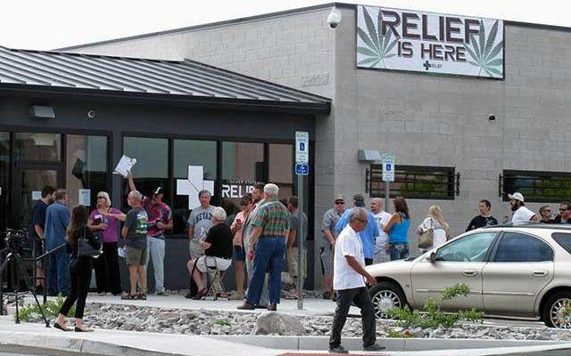 15 Years After Approval, 1st Legal Pot Sold In Nevada