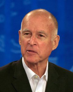 California Governor Jerry Brown, dispensaries Las Vegas, California marijuana lab testing