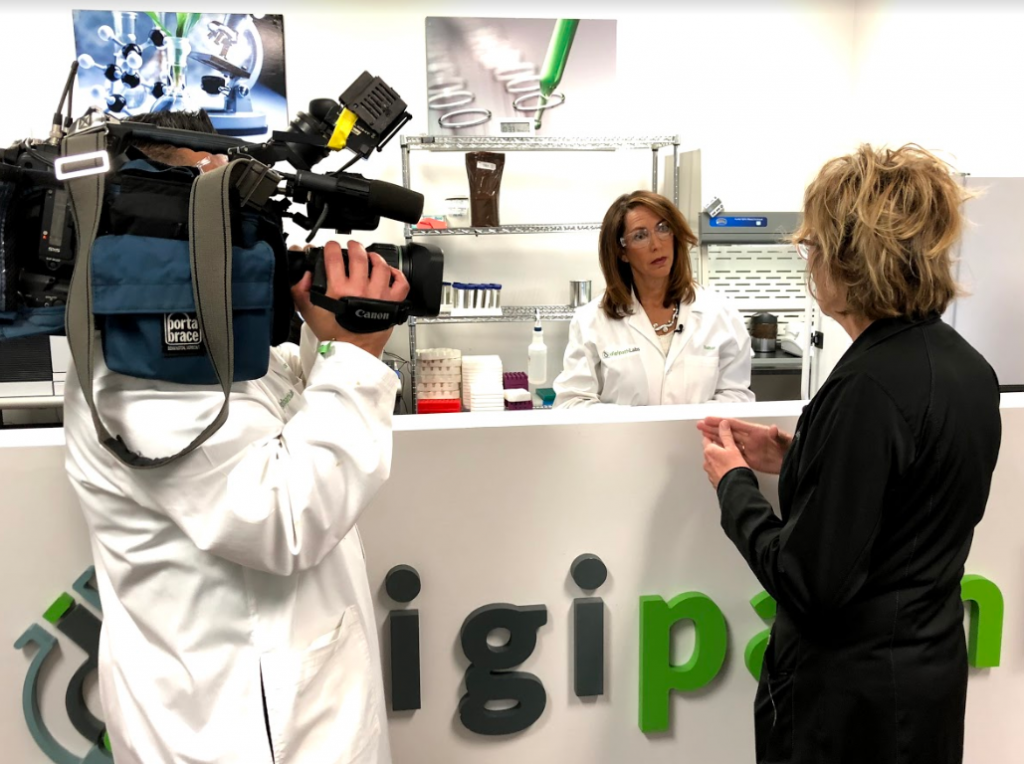 Digipath in the Local News; Channel 13 News Comes to Learn About Marijuana Lab Testing in Nevada