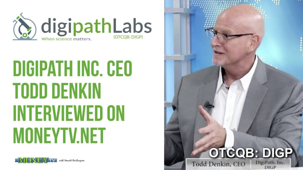 Digipath Labs CEO Todd Denkin on MoneyTV.net Part 1