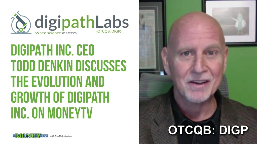 The Evolution of Digipath Inc., Todd Denkin on MoneyTV